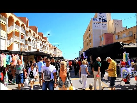 Torre La Mata Wednesday Street Market, Spain
