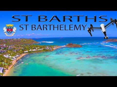 St Barths ~ Saint Barthelemy ~ St Barts ~ Best UAV Drone Caribbean ~ WeBeYachting.com