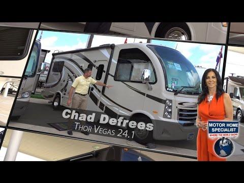 2016 Thor Motor Coach Vegas RV RUV Review at World's RV Show - MHSRV.com