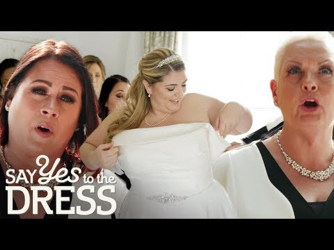 Bride's Dress Rips Moments Before Walking Down the Aisle | Full Episode | Curvy Brides Boutique