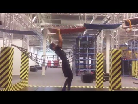 """Playtime at Turbo Sport & Adventure, SWEDEN. With some """"Ninja lounge, Trampolines, Parkour"""""""