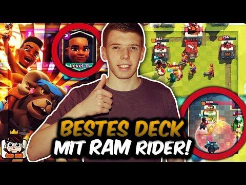 BESTES RAM RIDER DECK?! | Neue Karte absolut stark mit Pekka! | Clash Royale Deutsch