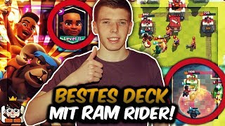 Clash Royale Deutsch Bestes Deck Mit Neuer Karte Ram Rider! Der Str...