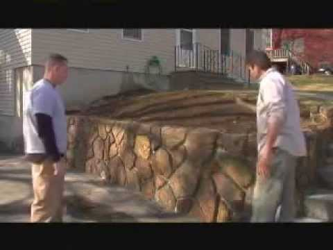 How To Build A Retaining Wall The Stonemakers Method
