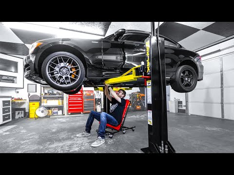 MaxJax Lift Installation & Review - Portable 2-Post Lift For Home Garage