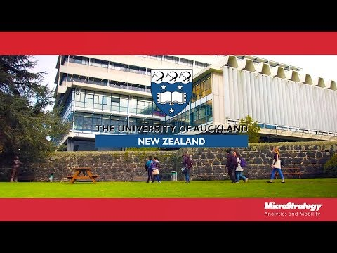 The University of Auckland uses analytics to improve its student experience