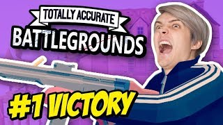 BATTLE ROYALE VICTORY! | Totally Accurate Battlegrounds