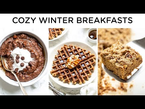 HEALTHY WINTER BREAKFAST RECIPES ‣‣ cozy & healthy breakfast ideas