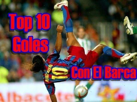 10 mejores de ronaldinho: