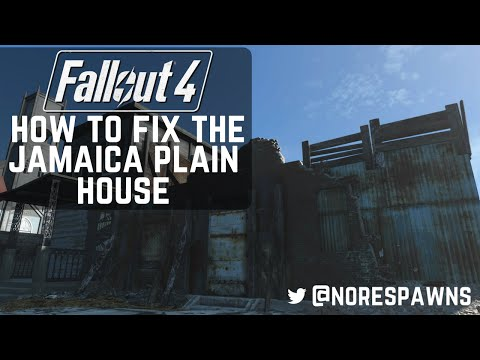 Fallout 4 Guide - How to Fix the Jamaica Plain House