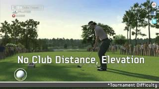 Tiger Woods PGA TOUR 12: The Masters Tips on Tournament Difficulty