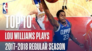 Lou Williams 17'-18' 6th Man Of The Year | Top 10 Plays Of The Season