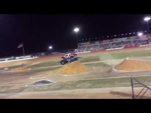 Lucas Oil Speedway Wheatland, MO Darron Schnell driving Bigfoot Monster truck