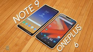 Samsung Galaxy Note 9 vs OnePlus 6: Very differently priced flagships