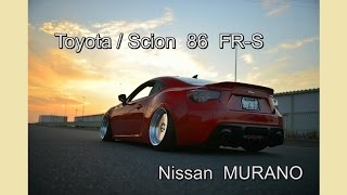 Gambar cover 【Scion/Toyota】 FT-86 FRS / Nissan MURANO 【USDM/Stance/HiLift】