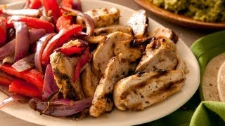 how to make chicken fajita