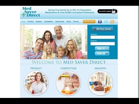 "Med Saver Direct ""Helping Seniors and Families on Prescribed Medications"""