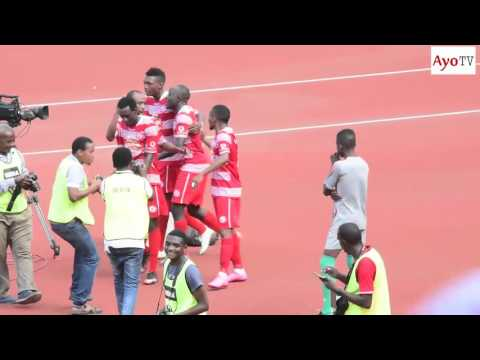 Video ya magoli ya Simba 4-0 African Sports Ligi Kuu TZ January 30 2016