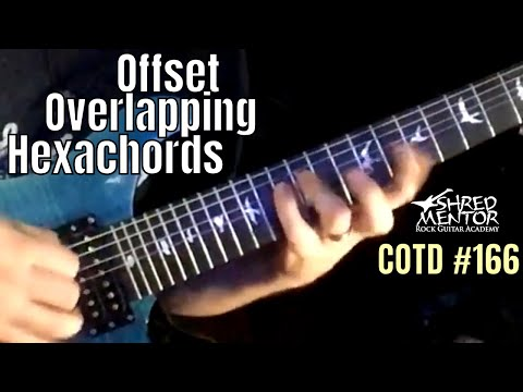Offset Overlapping Hexachords | ShredMentor Challenge of the Day #166