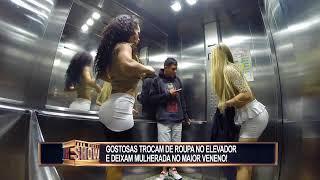Garotas atrasadas trocam de roupa no elevador e causam uma tremenda confusão MP3