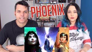 REACT Phoenix (com Cailin Russo e Chrissy Costanza)   Mundial 2019 - League of Legends