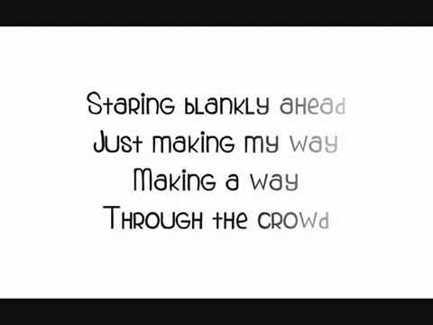 A Thousand Miles - Vanessa Carlton (piano cover + lyrics)