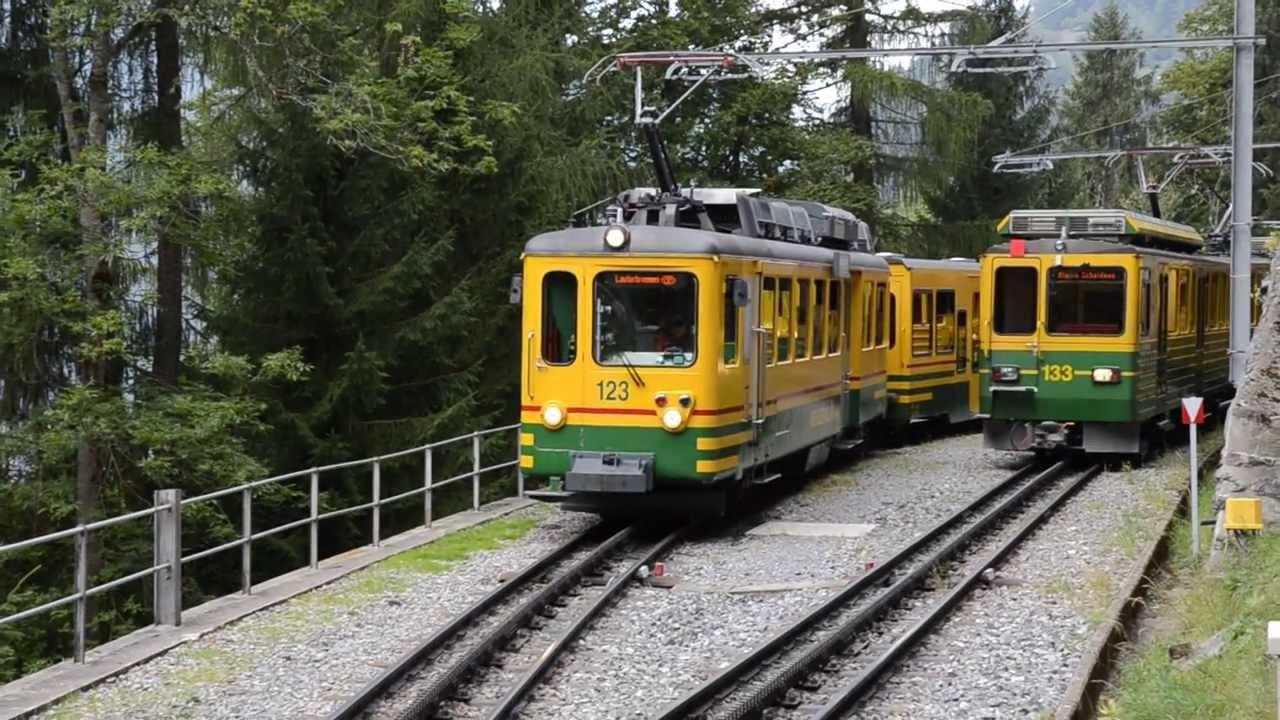 how to get to wengen from lauterbrunnen