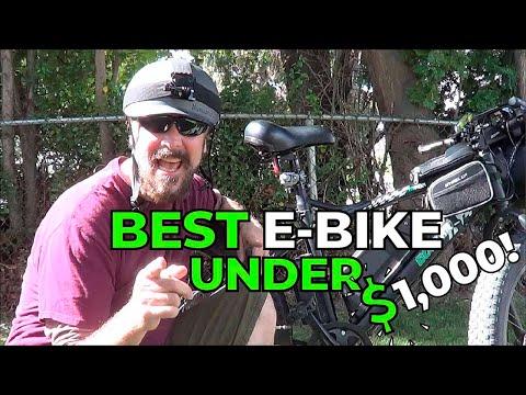 Best E-Bike Under $1,000! | EcoTric Fat Tire 900s! | GreenMotion E-Bikes