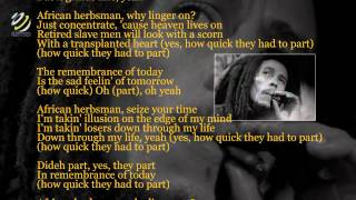 Bob Marley - African Herbsman (Lyrics New)