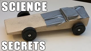 Easy Pinewood Derby Car Wins Using Science!!!