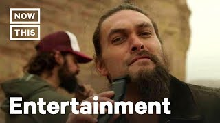 Jason Momoa Shaved His Beard for a Good Cause | NowThis