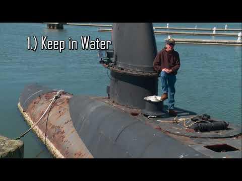 USS Clamagore Submarine Reefing Capital Campaign Video