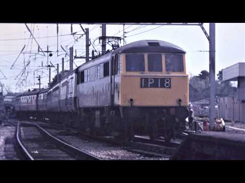 The West Coast Main Line in the 1970s