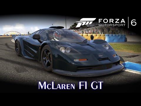McLaren F1 GT! Top Speed do lendário V12! \o/   Forza Motorsport 6 [PT-BR]