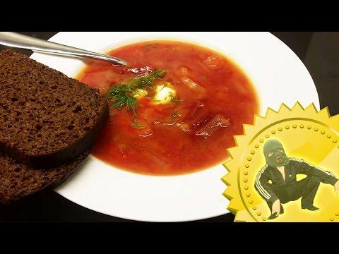 How to make borsch soup like a slav (Borscht recipe) Cooking with Boris