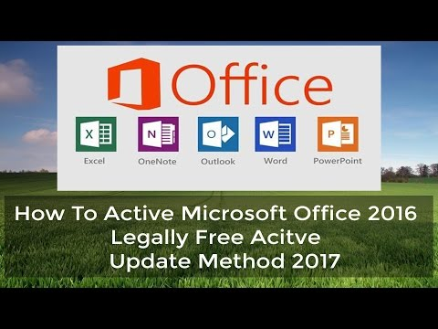 Microsoft Office 2016 Activator ✔ | Legally Free Active | Activate All Microsoft Office