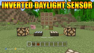 ★Minecraft Xbox 360 + PS3: TU25 Update - Inverted Daylight Sensor FULL tutorial + Iron Trap Doors★