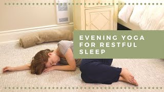 Evening Yoga For Restful Sleep