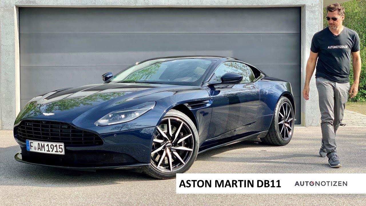 Aston Martin Db11 V8 2020 Sportwagen Mit 510 Ps Im Review Test Fahrbericht Youtube