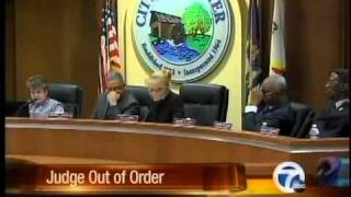 Judge out of order?