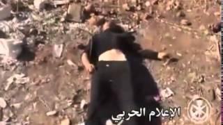 Эксклюзив! Жесточайшая война в Сирии. Стратегическая операция по захвату позиций ИГИЛ. Убитые тела.