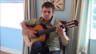Однообразные Мелькают романс - на гитаре соло
