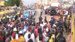 Vice President Osinbajo Visits Anambra Survivors Of Tanker Explosion
