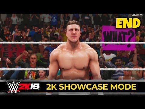 WWE 2K19 - 2K SHOWCASE - Ep 11 - SECRET MATCH!! (FINALE!!)