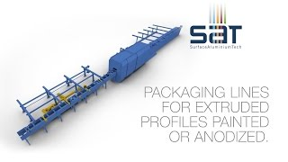 SAT | PACK - Packaging Lines for Extruded Profiles