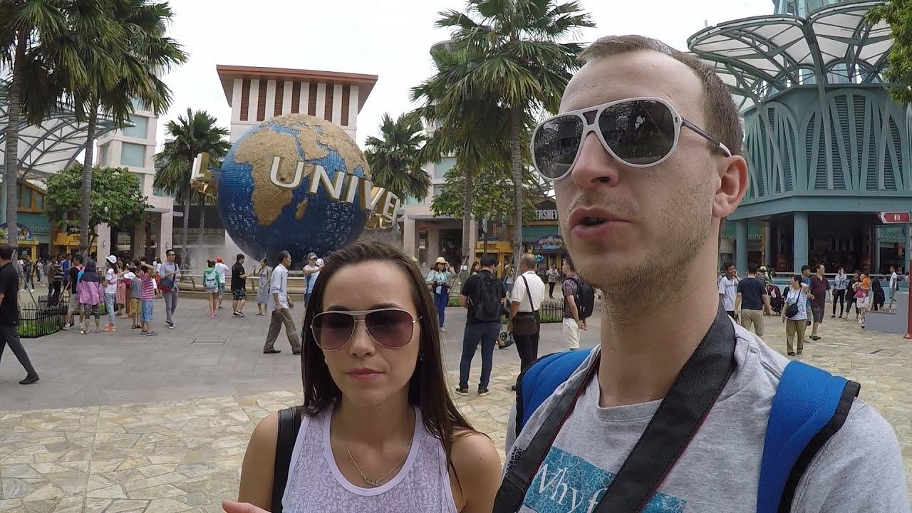 Universal studios Сингапур и остров Сентоза!