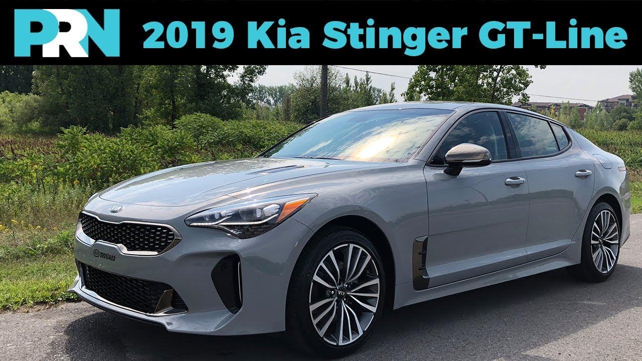 2019 Kia Stinger Gt Line Testdrive Snapshot Youtube