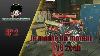 [FR] Je Monte un Moteur v8 2carb