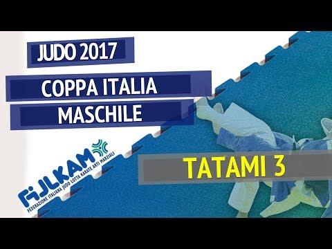 Judo Coppa Italia Maschile 2017 - TATAMI 3
