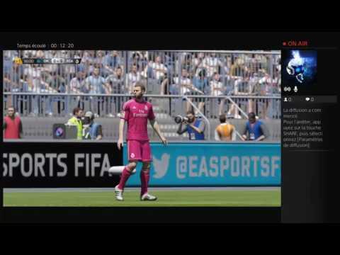 Defi 1 battre real niveau légende avec Marseille(a 2 avec nathan kieto )